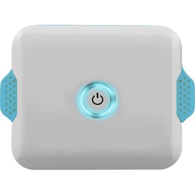 EP-03-4400W-BLU Enerpak Flexi Portable USB Battery w/ Charging Cable White/Blue