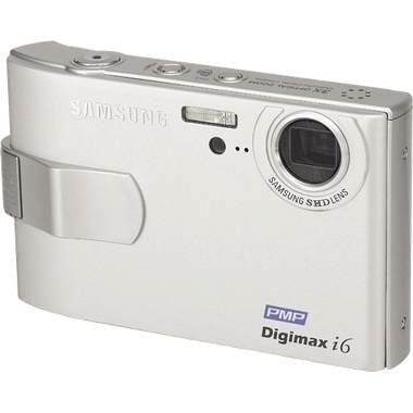 Digimax i6 Digital Camera, PMP and MP3 (Silver)