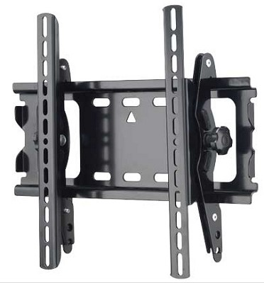MT25B - Tilting Wall Mount for 26` - 42` Panel TV's - Black Finish