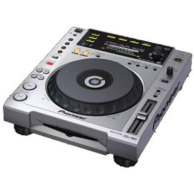 CDJ850 - Performance Multi Player - Silver