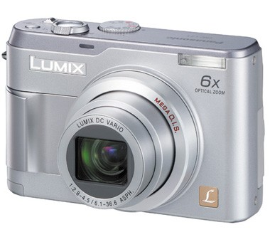 DMC-LZ1 Lumix 4 MP Ultra-Compact Digital Camera w/ 6x Optical Zoom - OPEN BOX