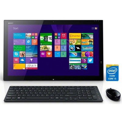 Tap 21 SVT21223CXB 21.5` Touch Portable All-In-One PC - Intel Core i5-4200U Proc