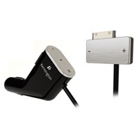 RDS FM Transmitter/Car Charger for iPod