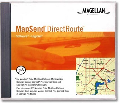 MapSend DirectRoute Software for North America