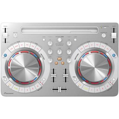 DDJ-WeGO3 Compact Digital DJ Controller, White