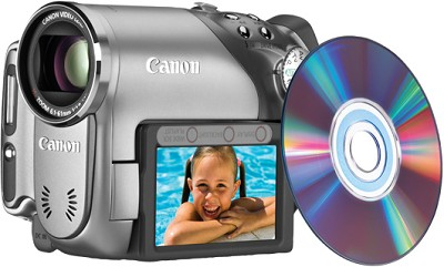 DC-40 Super Slim DVD Camcorder W10x Optical Zoom, 4.3 MP Still Photo - OPEN BOX