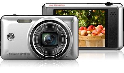 E1486TW 14MP Power Series Touch Screen Digital Camera (Silver)