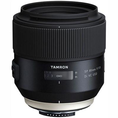 SP 85mm f1.8 Di VC USD Lens for Nikon Full-Frame DSLR Cameras (F016)