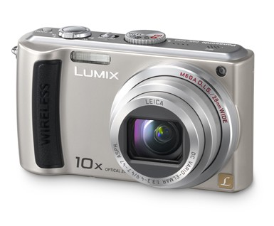 DMC-TZ50S Lumix 9.1 Megapixel Wi-Fi 10x Zoom Digital Camera (Silver)