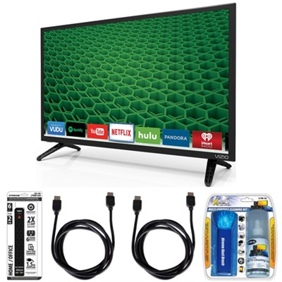 D28h-D1 - D-Series 28-Inch Full Array LED Smart TV Accessory Bundle