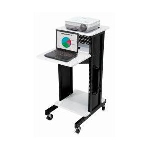 PRC200 Steel Premium Presentation Cart, 18` Width x 40-1/2` Height x 30` Depth