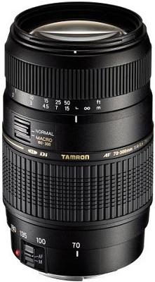 70-300mm f/4-5.6 DI LD Macro Lens f/ Nikon AF w/ Built-in Motor - OPEN BOX