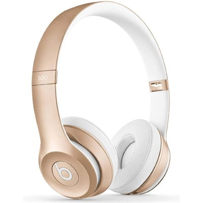 Dr. Dre Solo2 Wireless On-Ear Headphones (Gold)  Open Box