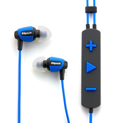 Image S4i Rugged Blue In-Ear Headphones