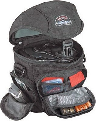 Digital Zoom 4 Bag for digital SLR cameras Black