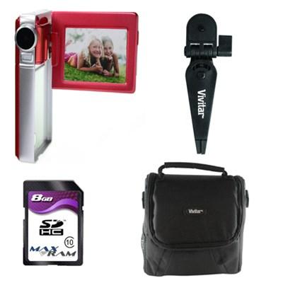 Digital Video Camera Kit (DVR925-RED/KIT-AMX)