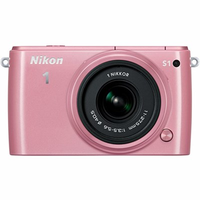 1 S1 10.1MP Pink Digital Camera with 11-27.5mm Lens Refurbished