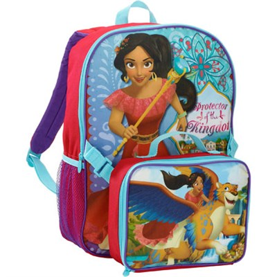 Disney Princess Elena of Avalor 16 in Backpack with Lunchbox