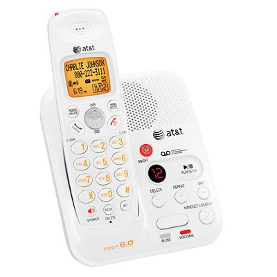 DECT 6.0 Digital Cordless Answering System with Caller ID/Call Waiting