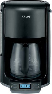 FME2-14 Coffee Machine with 12- Cup Glass Carafe (Black)