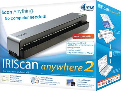Iriscan Anywhere 2