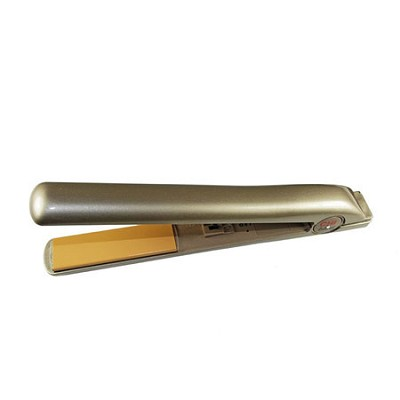 Ceramic Hairstyling 1-Inch Flat Iron, Champagne Ice