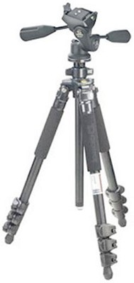 Classic 4-Section Aluminum Tripod w/ Flip Leg Locks & MH5011SB Panhead