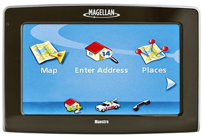 Maestro 4250 Portable Car GPS Navigation System