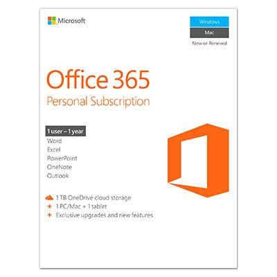 Office 365 Personal Subscription P2 - QQ2-00597