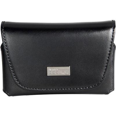 Black Leather Horizontal Case