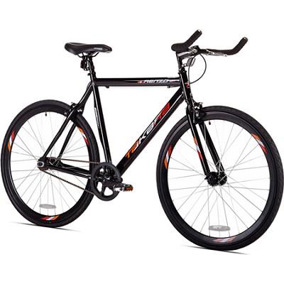 Black Renzo 22.5`/56cm 700c Fixie Road Bike (32718)