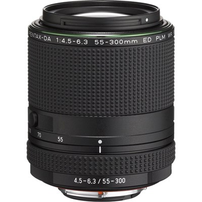 HD PENTAX-DA 55-300mm f/4.5-6.3 ED PLM WR RE Telephoto Zoom Lens