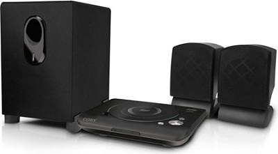 2 Channel DVD Player with Home Theater Speaker System