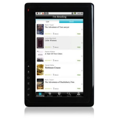 7 inch Android 2.2 WiFi Tablet & eReader 1GHz 2GB