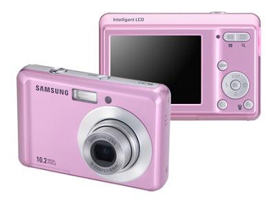 SL30 10MP 2.5` LCD Digital Camera (Pink)