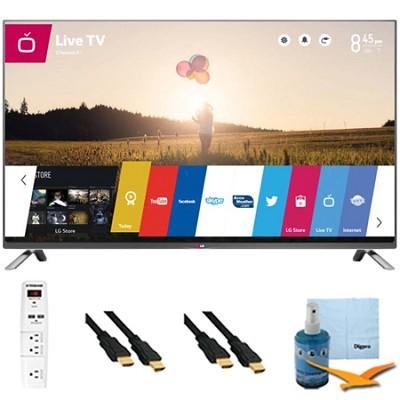 55-Inch 1080p 120Hz Direct LED Smart HDTV Plus Hook-Up Bundle (55LB6300)