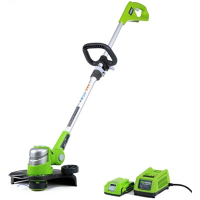 24V 12-inch String Trimmer with 2AH Battery and Charger (21342)