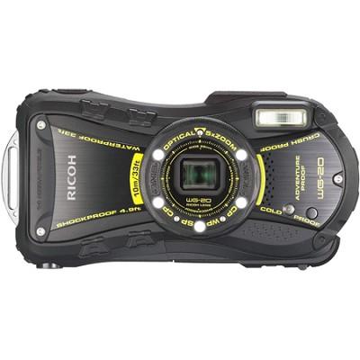 WG-20 14MP Waterproof Shockproof Coldproof Crushproof 5x Opt Zoom Camera (Black)