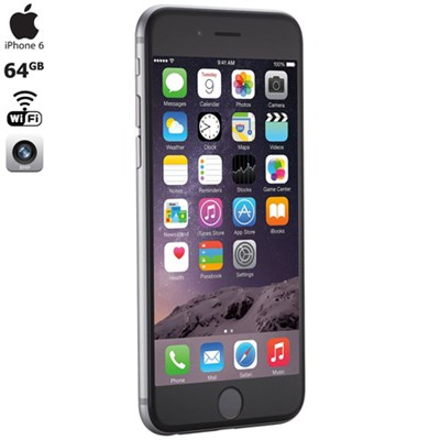 iPhone 6, Gray, 64GB, Verizon,1-Year Warranty - MG632LL/A- Certified Refurbished