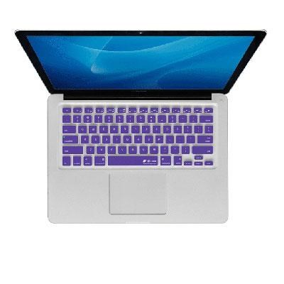 Purple Checkerboard Keyboard Cover for MacBook Air and Pro - CB-M-PURPLE