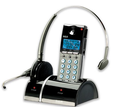 Digital Wireless Headset/Handset Combo