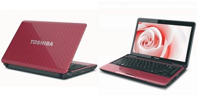 Satellite L735-S3220RD 13.3 Inch Matrix Red Notebook Intel Core i5-2410M