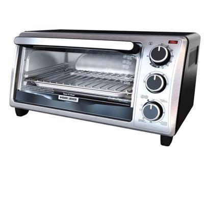 BD 4Slice Bezel ToasterOven SS
