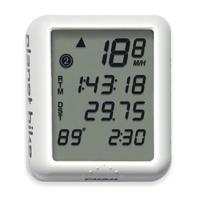 Protege 9.0 9-Function Bike Computer with 4-Line Display and Temperature