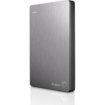 Backup Plus 2TB Portable External Hard Drive with Mobile Device Backup Silver