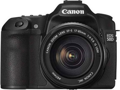 EOS 50D SLR Camera with 17-85mm Lens
