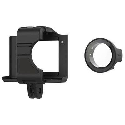 Cage Mount with Protective Lens for VIRB Ultra Action Camera