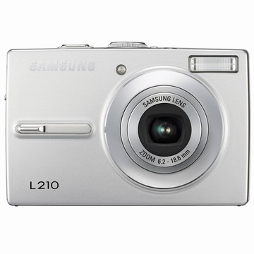 L210 10MP 2.5` LCD Digital Camera (Silver)