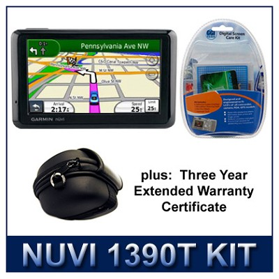 nuvi 1390T GPS Extended Protection Kit