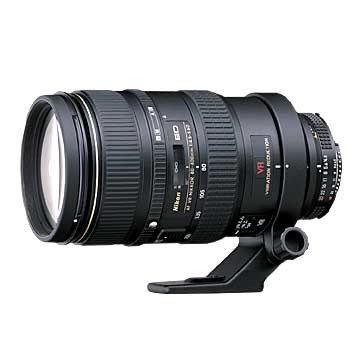 80-400mm F/4.5-5.6D ED VR AF Zoom-Nikkor Lens (Refurbished)